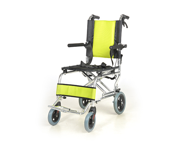 lightweight transport aluminium wheelchair